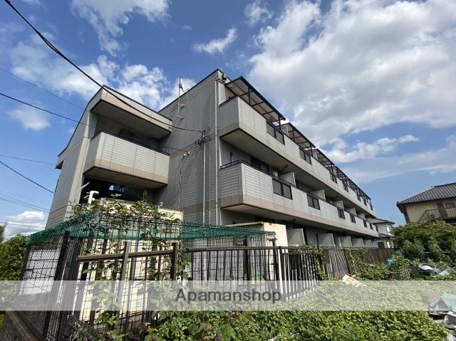 埼玉県草加市、草加駅徒歩10分の築19年 3階建の賃貸マンション