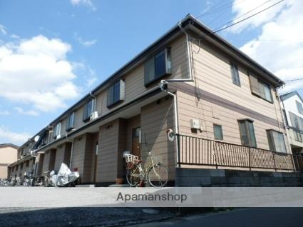 埼玉県草加市、草加駅徒歩7分の築28年 2階建の賃貸テラスハウス
