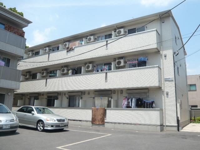 埼玉県草加市、谷塚駅徒歩12分の築8年 3階建の賃貸アパート