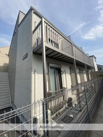 埼玉県草加市、草加駅徒歩12分の築1年 2階建の賃貸アパート