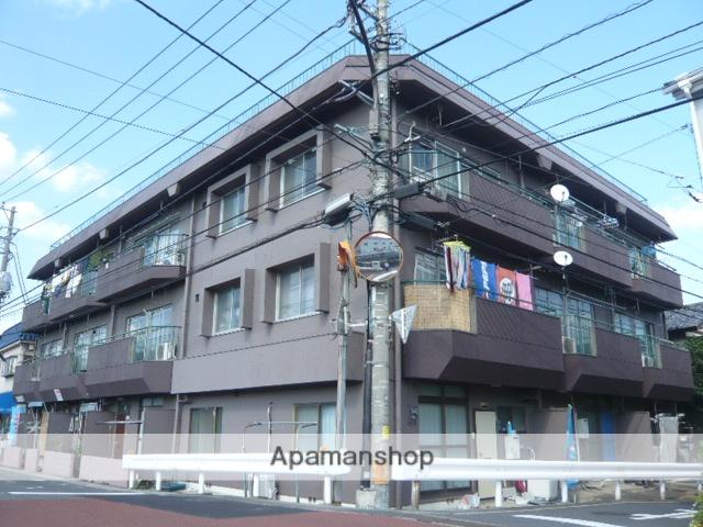 埼玉県草加市、松原団地駅徒歩24分の築43年 3階建の賃貸マンション