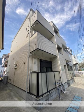 埼玉県草加市、谷塚駅徒歩8分の新築 3階建の賃貸アパート