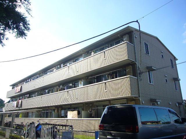 埼玉県草加市、竹ノ塚駅徒歩22分の築7年 3階建の賃貸アパート