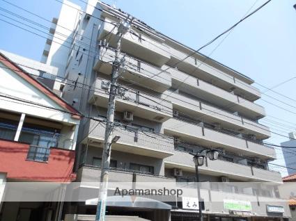 埼玉県草加市、草加駅徒歩3分の築26年 7階建の賃貸マンション