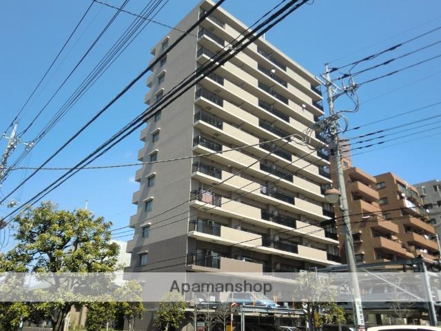 埼玉県草加市、草加駅徒歩5分の築14年 13階建の賃貸マンション