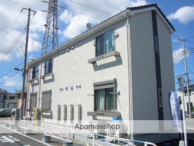 埼玉県草加市、竹ノ塚駅徒歩26分の築5年 2階建の賃貸アパート