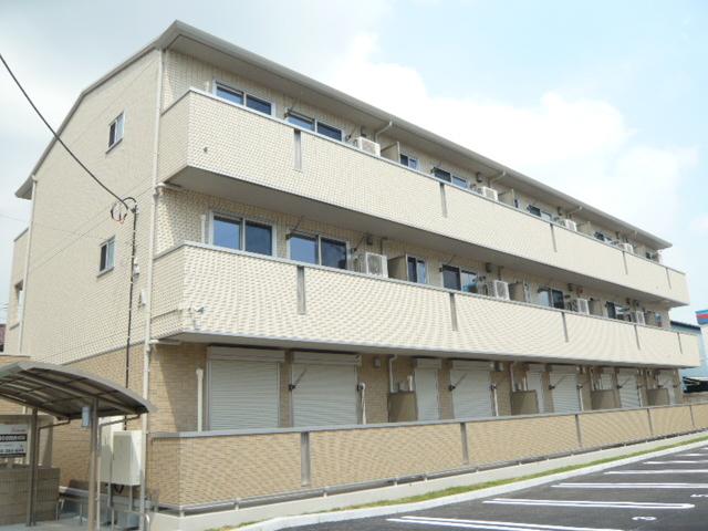 埼玉県草加市、草加駅徒歩27分の築5年 3階建の賃貸アパート