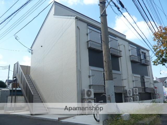 埼玉県草加市、松原団地駅徒歩20分の築6年 2階建の賃貸アパート