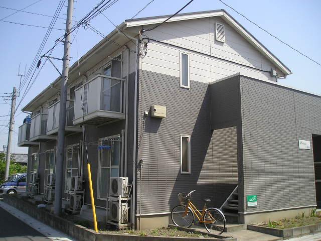 埼玉県草加市、谷塚駅徒歩27分の築20年 2階建の賃貸アパート