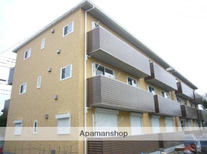 埼玉県草加市、谷塚駅徒歩19分の築5年 3階建の賃貸アパート