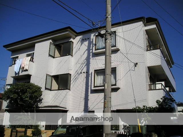 埼玉県草加市、草加駅徒歩20分の築27年 3階建の賃貸マンション