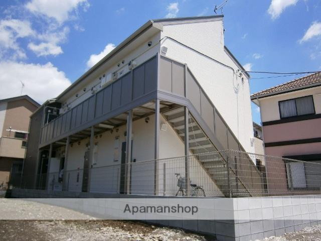 埼玉県草加市、松原団地駅徒歩16分の築4年 2階建の賃貸アパート