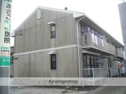 埼玉県草加市、谷塚駅徒歩17分の築25年 2階建の賃貸アパート