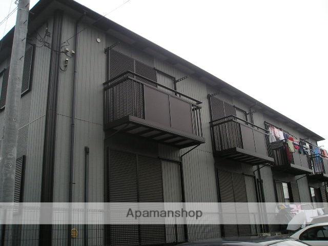埼玉県草加市、草加駅バス10分南後谷下車後徒歩10分の築19年 2階建の賃貸テラスハウス