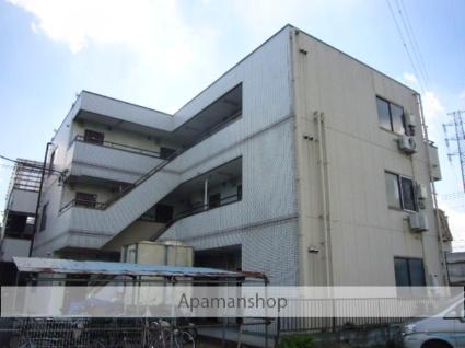 埼玉県草加市、松原団地駅徒歩12分の築25年 3階建の賃貸マンション