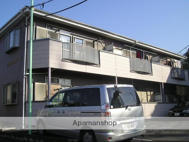 埼玉県八潮市、八潮駅徒歩21分の築20年 2階建の賃貸アパート