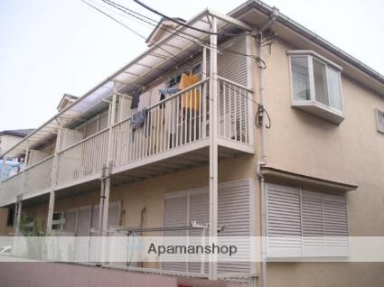 埼玉県草加市、松原団地駅徒歩13分の築28年 2階建の賃貸アパート