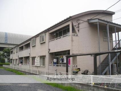 埼玉県草加市、松原団地駅徒歩20分の築24年 2階建の賃貸アパート