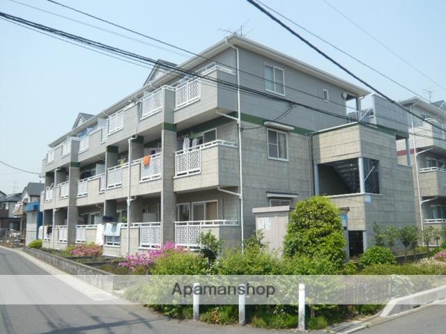 埼玉県草加市、草加駅徒歩41分の築22年 3階建の賃貸アパート