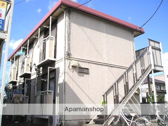 埼玉県草加市、草加駅徒歩22分の築24年 2階建の賃貸アパート