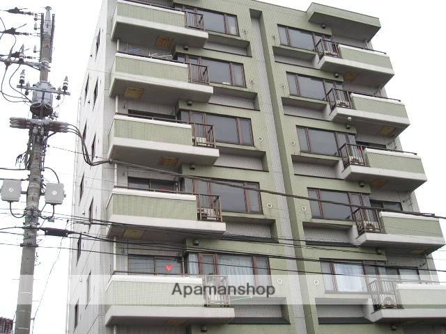 埼玉県草加市、草加駅徒歩8分の築27年 7階建の賃貸マンション