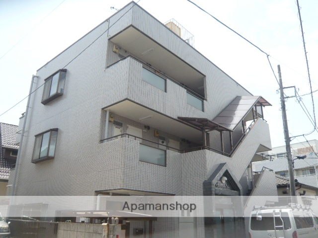 埼玉県草加市、草加駅徒歩10分の築27年 3階建の賃貸マンション