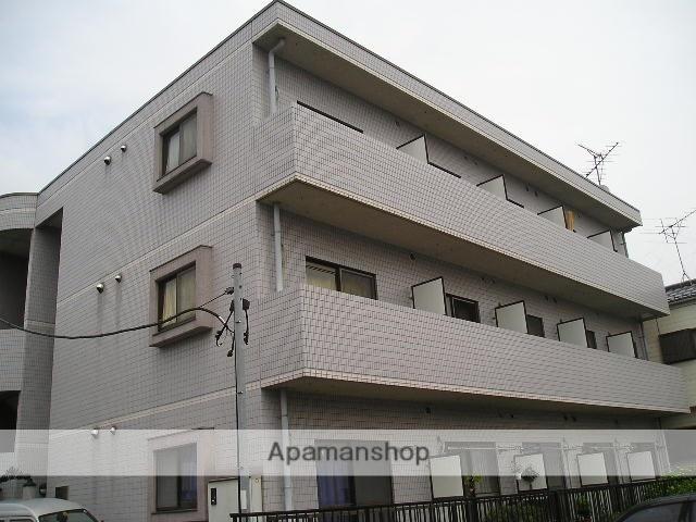 埼玉県草加市、新田駅徒歩4分の築21年 3階建の賃貸マンション