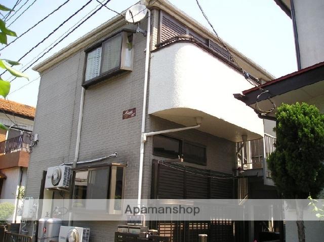 埼玉県草加市、松原団地駅徒歩7分の築25年 2階建の賃貸アパート
