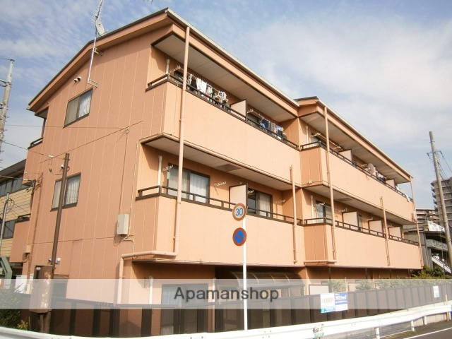埼玉県草加市、草加駅徒歩30分の築26年 3階建の賃貸マンション