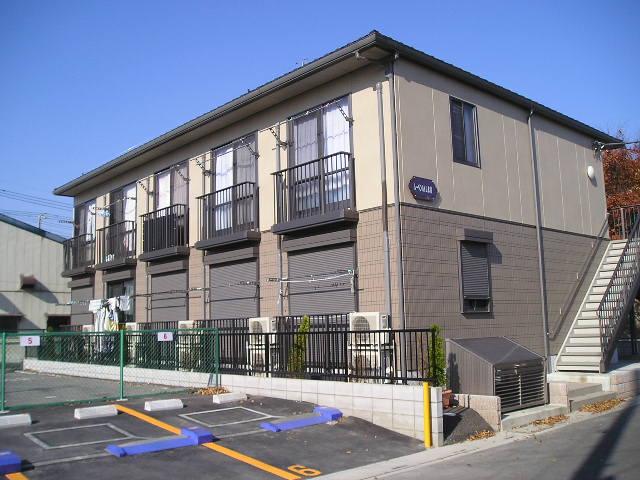 埼玉県草加市、草加駅徒歩6分の築12年 2階建の賃貸アパート