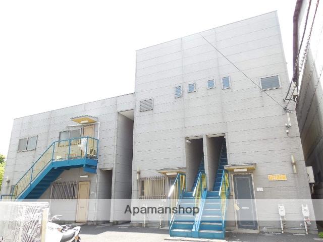 埼玉県草加市、谷塚駅徒歩15分の築17年 2階建の賃貸マンション