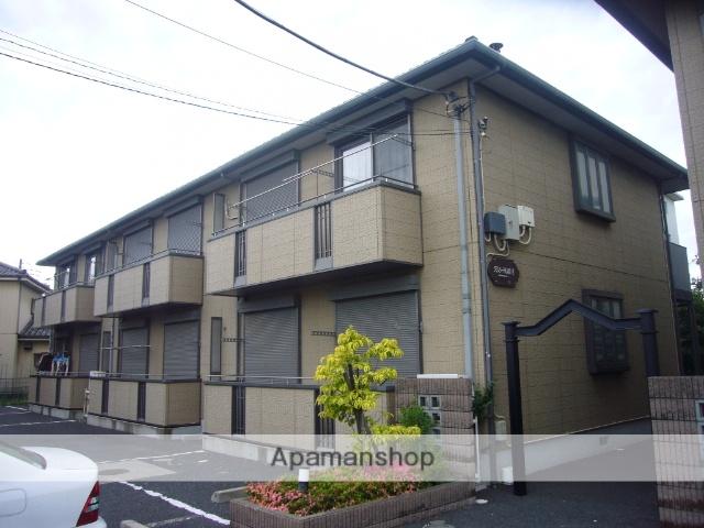 埼玉県八潮市、草加駅徒歩28分の築17年 2階建の賃貸アパート