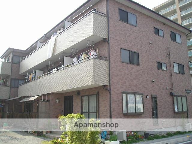 埼玉県草加市、草加駅徒歩27分の築16年 3階建の賃貸アパート