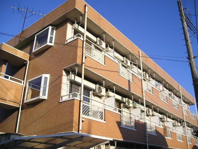 埼玉県草加市、草加駅徒歩35分の築25年 3階建の賃貸マンション