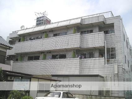 埼玉県草加市、草加駅バス6分いぐ下車後徒歩20分の築30年 3階建の賃貸マンション