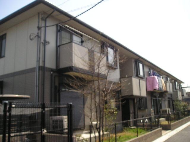 埼玉県八潮市、草加駅バス15分八潮農協前下車後徒歩6分の築17年 2階建の賃貸アパート