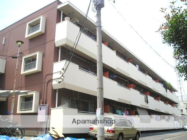 埼玉県草加市、松原団地駅徒歩8分の築37年 3階建の賃貸マンション