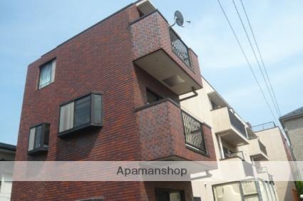 埼玉県草加市、竹ノ塚駅徒歩27分の築23年 3階建の賃貸マンション