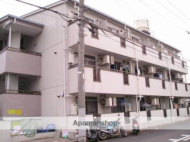 埼玉県草加市、谷塚駅徒歩10分の築29年 3階建の賃貸マンション