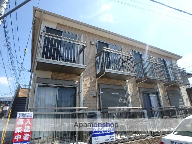 埼玉県さいたま市北区、日進駅徒歩22分の築8年 2階建の賃貸アパート