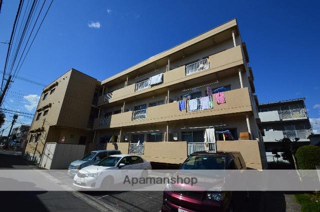 埼玉県さいたま市大宮区、日進駅徒歩27分の築32年 3階建の賃貸マンション