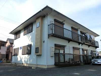 埼玉県さいたま市見沼区、大宮駅バス15分高井北下車後徒歩2分の築24年 2階建の賃貸アパート