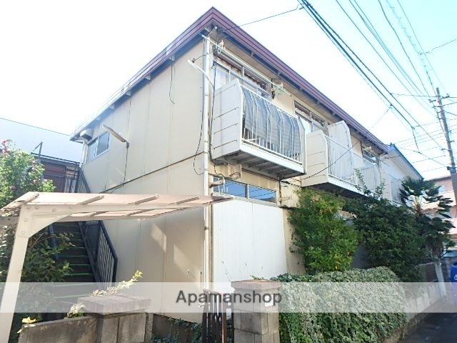 埼玉県さいたま市大宮区、大宮駅徒歩17分の築39年 2階建の賃貸アパート