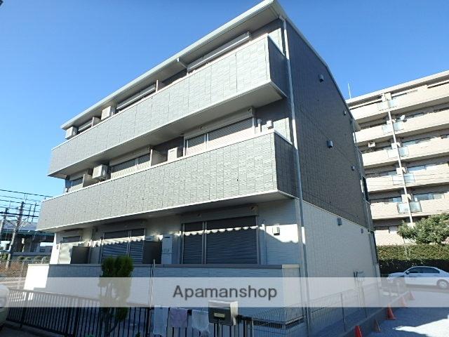 埼玉県さいたま市北区、北大宮駅徒歩17分の新築 3階建の賃貸アパート