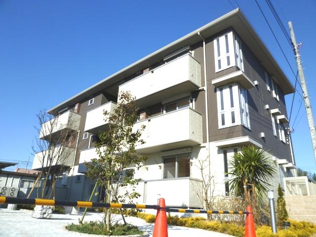 埼玉県さいたま市見沼区、大宮駅バス20分西中野下車後徒歩11分の築4年 3階建の賃貸アパート