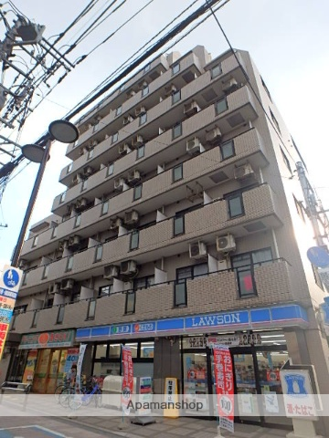 埼玉県さいたま市浦和区、中浦和駅徒歩25分の築25年 8階建の賃貸マンション