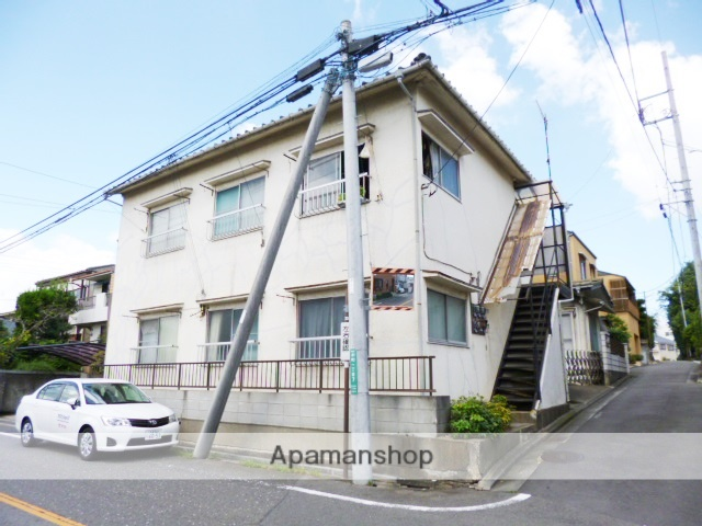 埼玉県さいたま市浦和区、武蔵浦和駅徒歩22分の築41年 2階建の賃貸アパート