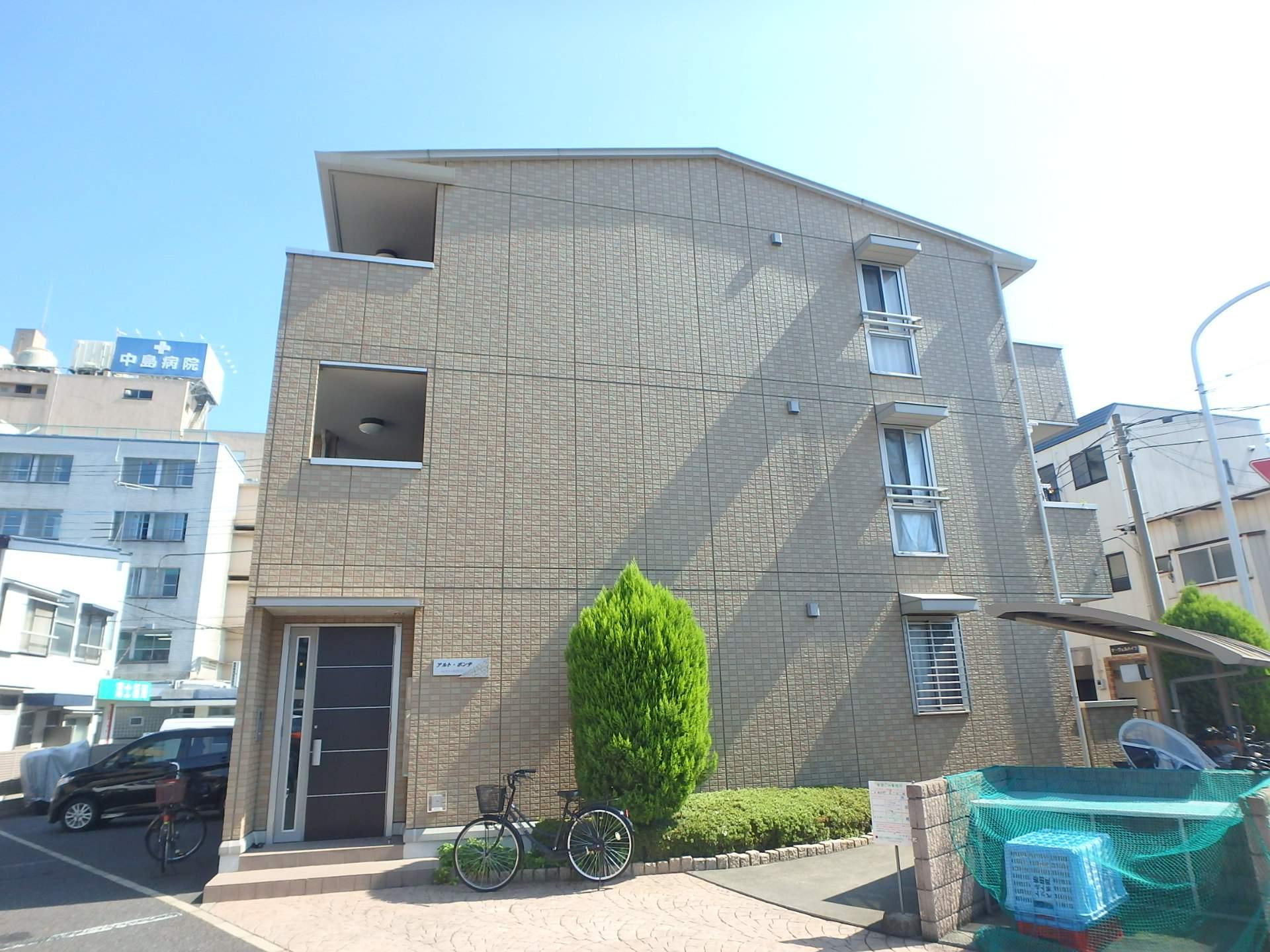埼玉県戸田市、戸田公園駅徒歩14分の築7年 3階建の賃貸アパート