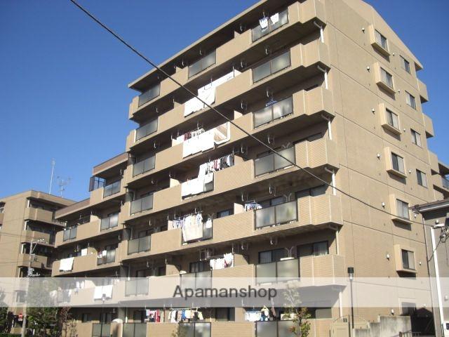 埼玉県戸田市、戸田公園駅徒歩9分の築27年 7階建の賃貸マンション