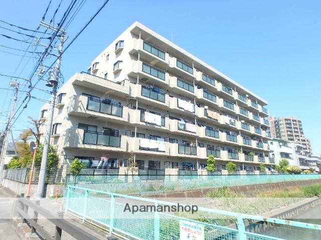 埼玉県戸田市、戸田公園駅徒歩2分の築29年 6階建の賃貸マンション